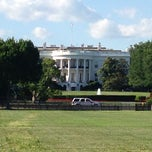 Photo taken at The White House Southeast Gate by Joe S. on 5/25/2013