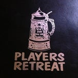Photo taken at The Players' Retreat by Regina T. on 11/24/2012