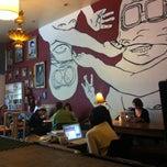 Photo taken at Kreuzberg Coffee Company by Paolo Z. on 3/7/2013