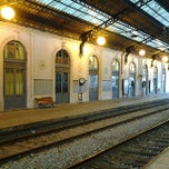 Photo taken at Estação Ferroviária de Alcântara Terra by Xande O. on 12/23/2013