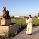 Photo taken at Holy Spirit Catholic Parish of McAllen by May C. on 4/12/2014