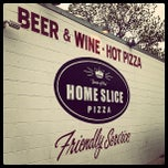 Photo taken at Home Slice Pizza by Jorge A. on 4/8/2013