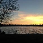 Photo taken at Green Lake Loop by Kate K. on 4/2/2013