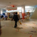 Photo taken at Queens Central Library by sadia on 11/10/2012