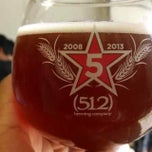 Photo taken at (512) Brewing Company by Johnny S. on 10/26/2013