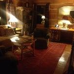 Photo taken at Lake Placid Lodge by Jane K. on 3/5/2013