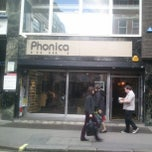 Photo taken at Phonica by JB on 9/27/2012