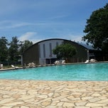 Photo taken at Clube dos Oficiais do DCTA (COCTA) by Adriano S. on 1/7/2014