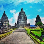 Photo taken at Candi Prambanan (Prambanan Temple) by Pete R. on 6/17/2013