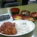 Photo taken at 토마토 김밥 부평점 by Darren on 4/23/2013