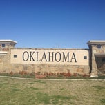 Photo taken at Oklahoma Visitor Center by Jodie on 4/10/2013