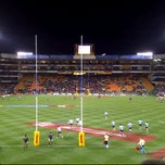Photo taken at Newlands Rugby Stadium by Carolyn B. on 5/19/2012
