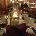 Photo taken at galisteo bistro by Kelly U. on 1/11/2013