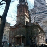Photo taken at St. Paul's Chapel by Rob G. on 4/7/2013