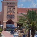 Photo taken at Orlando Premium Outlets by Denise R. on 7/14/2012