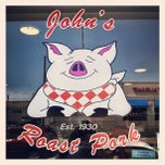 Photo taken at John's Roast Pork by David S. on 6/28/2012