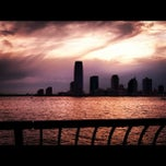 Photo taken at Hudson River Promenade by Paul R. on 6/25/2012