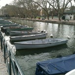Photo taken at Quai Napoléon III by Stéphanois-Forever on 4/9/2012