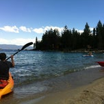Photo taken at Meeks Bay Resort by Nata K. on 7/21/2012
