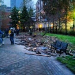 Photo taken at Frankenstorm Apocalypse - Hurricane Sandy by Eric H. on 10/31/2012