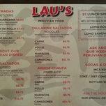 Photo taken at Laus Peruvian Food by Brady S. on 1/21/2013