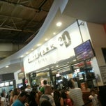 Photo taken at Cinemark San Justo by Gustavo D. on 1/12/2014