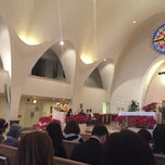 Photo taken at St. Stephen Martyr Catholic Church by Rey A. on 2/8/2015