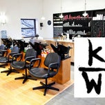 Photo taken at Kenneth Wildes Hair Salon by Scott R. on 2/12/2014