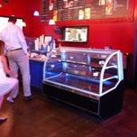 Photo taken at Mokas Coffee by Lorene R. on 6/2/2013