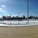 Photo taken at Memorial Field by Jason B. on 2/11/2014