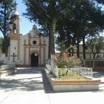 Photo taken at San Miguel Tocuila by Raul C. on 2/17/2014