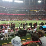 Photo taken at Atlanta Falcons Owners Club by Jonathan S. on 12/15/2013