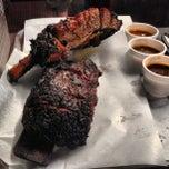 Photo taken at Louie Mueller Barbecue by Matt K. on 12/28/2012