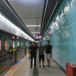 Photo taken at 地铁广州火车站 Metro Guangzhou Railway Station by Lord Christopher L. on 8/13/2014