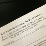 Photo taken at Registro Mercantil by Violant G. on 10/29/2014
