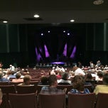Photo taken at The Craterian Theater at The Collier Center for the Performing Arts by Randy F. on 10/4/2014
