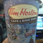 Photo taken at Tim Hortons by Tammy S. on 12/27/2012