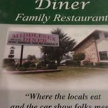 Photo taken at The Middlesex Diner by Dan T. on 3/22/2013