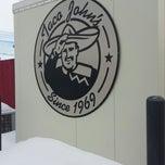 Photo taken at Taco John's by Daniel B. on 3/4/2014