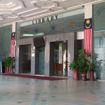 Photo taken at IIUM Library by Miera N. on 3/13/2013