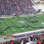 Photo taken at Arizona Stadium by Kim P. on 11/10/2012