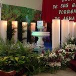 Photo taken at Parroquia Santa Rosa De Lima by Rocio R. on 4/18/2014