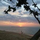 Photo taken at หาดในยาง (Nai Yang Beach) by Mei-ZhEn C. on 2/3/2013