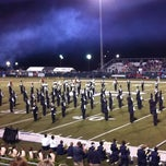 Photo taken at North Forsyth Football Stadium by Mike E. on 10/20/2012