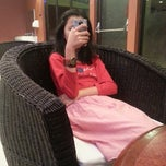 Photo taken at Library Cafe by Dessy A. on 12/27/2013