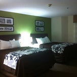 Photo taken at Sleep Inn by Marie Z. on 9/20/2012