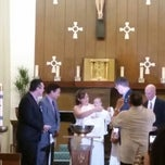 Photo taken at St. Mary Magdalen Church by Stefannie B. on 8/9/2014