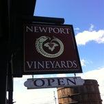 Photo taken at Newport Vineyards by Joe L. on 3/23/2013
