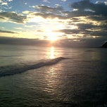 Photo taken at Lyssons Beach by France D. on 1/15/2014