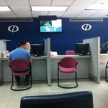 Photo taken at Banco de Guayaquil by Javier F. on 4/26/2013